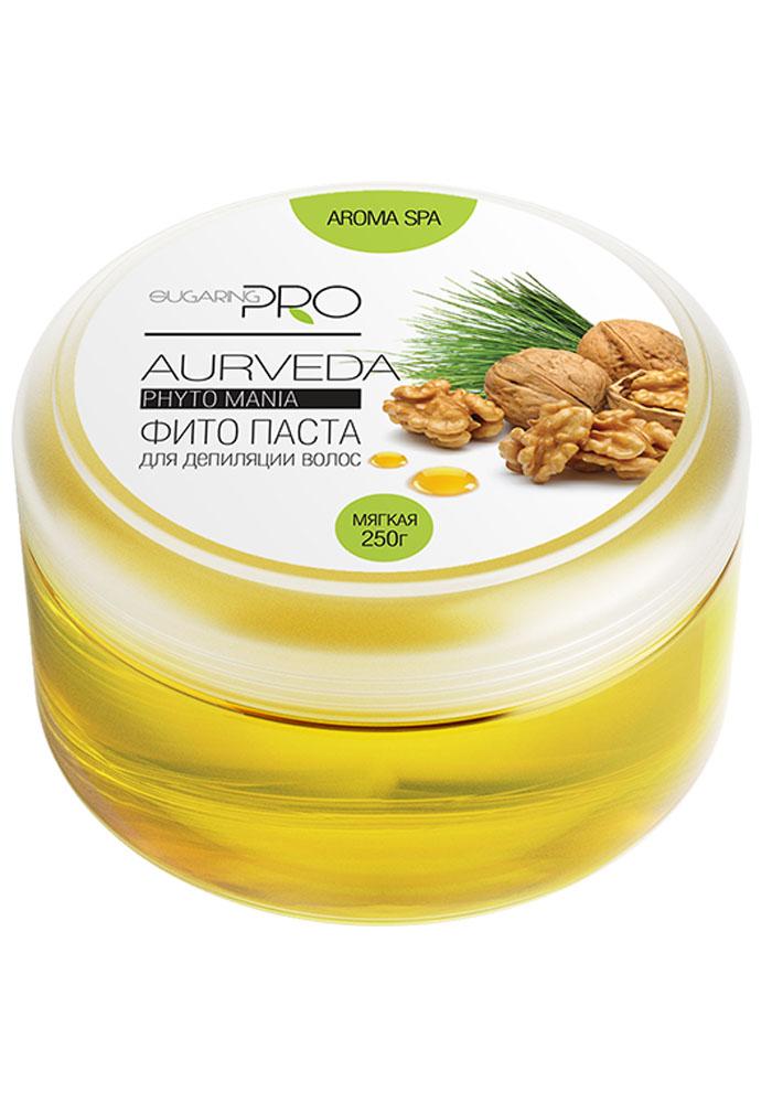 Sugaring Pro Сахарная паста Аюрведа мягкая, 250 гGESS-131Сахарная паста мягкой плотности применяется для удаления всех типов волос на любом участке тела. Паста, обволакивая волоски, позволяет достигать идеальный результат в процедуре. Средство не вызывает аллергии и раздражения. Используется для работы на больших поверхностях. Эффект сохраняется более 3 недель.