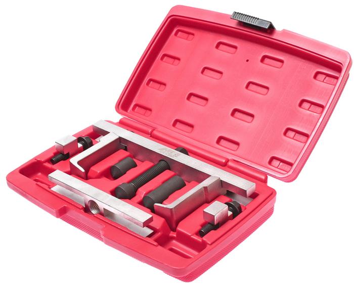 JTC Съемник шкивов двухзахватный. JTC-1350CA-3505Подходит для использования в ограниченном пространстве. Конструкция предусматривает легкую замену элементов съемника (захватов), что позволяет использовать приспособление для различных марок автомобилей. Длина губок: 72/95 мм.Глубина захвата: 18 мм., ширина: 4.4 мм. Количество в оптовой упаковке: 10 шт. Упаковка: прочный пластиковый кейс. Габаритные размеры: 270/180/55 мм. (Д/Ш/В) Вес: 2455 гр.