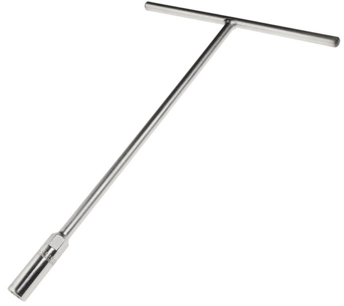 JTC Ключ торцевой T-образный 10 мм. JTC-36575104Инструмент изготовлен из закаленной хром-ванадиевой стали, хромированное покрытие.Размер: 10 мм.Длина: 300 мм.