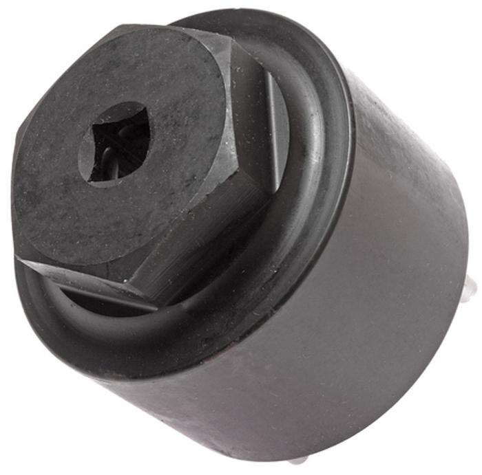 JTC Головка для сальника рулевого механизма. JTC-4105JTC-4105Инструмент применяется при замене сальника механизма рулевого управления, а также для регулировки зажимной гайки. Предотвращает повреждение гайки. Применение: большинство грузовых автомобилей Японского производства Фусо (Fuso) и др. Габаритные размеры: 90/90/85 мм. (Д/Ш/В) Вес: 1478 гр.