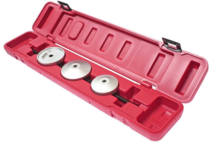 JTC Набор для снятия и установки сайлентблоков VW, AUDI серия VAG. JTC-48542706 (ПО)Набор для снятия и установки сайлент-блоков серия VAG JTCПрименяется в автомобилях VW и AUDIХарактеристики Специально предназначен для снятия / установки сайлентблоков. Применение: серия VAG. Габаритные размеры: 530/110/60 мм. (Д/Ш/В) Вес: 1743 г.