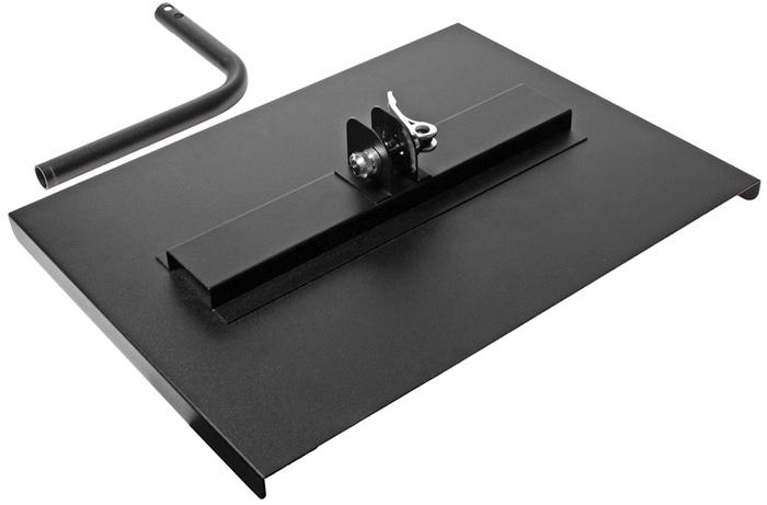 JTC Поверхность рабочая для инструментальной тележки JTC-5021. JTC-5060JTC-5060Подходит для установки на тележках JTC-5021. Предназначена для хранения диагностического оборудования, компьютера или технической литературы, необходимой для ремонта автомобиля. Размер в собранном виде: 402 X 301 X 221 мм. Габаритные размеры: 410/350/230 мм. (Д/Ш/В) Вес: 2400 гр.