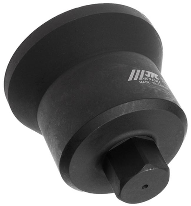JTC Головка ступичная 6-гранная (IVECO EURO CARGO и пр.). JTC-52515104Изготовлена из высококачественной стали, обладает высокой прочностью, предназначена для демонтажа ступичных гаек. Предотвращает скольжение. Применяется с ударным гайковертом или динамометрическим ключом, шестигранный ключ SW36. Общая длина: 117 мм. Применение: грузовые автомобили Ивеко (Iveco) EURO CARGO и пр. Габаритные размеры: 170/130/135 мм. (Д/Ш/В)Вес: 2580 гр.