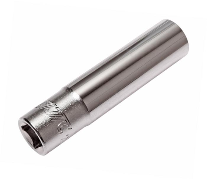 """JTC Головка торцевая глубокая 6-гранная 1/4 х 8 мм, длина 50 мм. JTC-25208CA-35056 граней, метрический размер. Изготовлена из закаленной хром-ванадиевой стали.Размер: 1/4""""х8 мм. Общая длина: 50 мм.Количество в оптовой упаковке: 20 шт. и 500 шт. Габаритные размеры: 50/12/12 мм. (Д/Ш/В) Вес: 27 гр."""