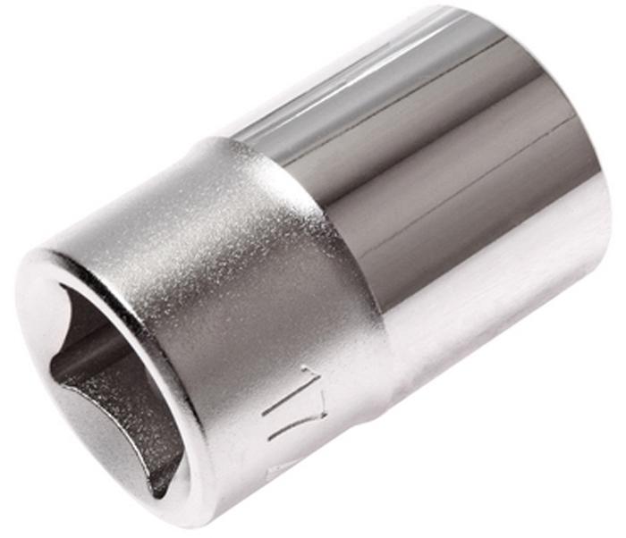 """JTC Головка торцевая 6-гранная 1/2 х 17 мм, длина 38 мм. JTC-43817JTC-438176 граней, метрический размер. Изготовлена из закаленной хром-ванадиевой стали. Размер: 1/2""""х17 мм. Длина: 38 мм. Количество в оптовой упаковке: 10 шт. и 200 шт. Габаритные размеры: 38/24/24 мм. (Д/Ш/В) Вес: 70 гр."""