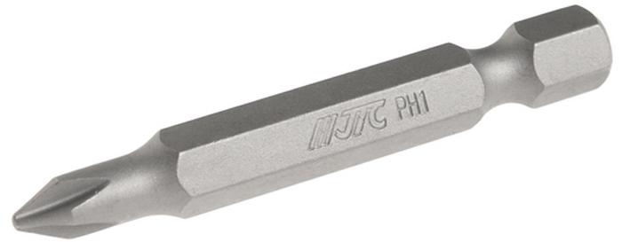 JTC Вставка 1/4DR Philips PH.1х50 мм. JTC-1115001JTC-1115001Размер: PH.1 х 50 мм. Квадрат: 1/4 DR. Материал: S2 сталь.