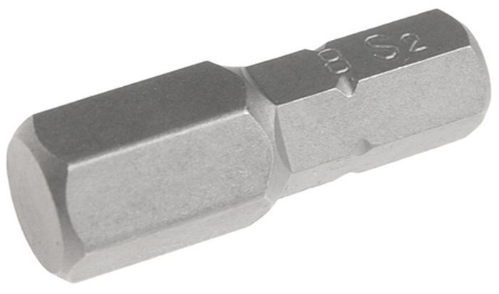 JTC Вставка 1/4DR 6-гранная 8x25 мм. JTC-11525085104Размер: 8 х 25 мм.Квадрат: 1/4 DR, 6-гранная.Материал: S2 сталь.
