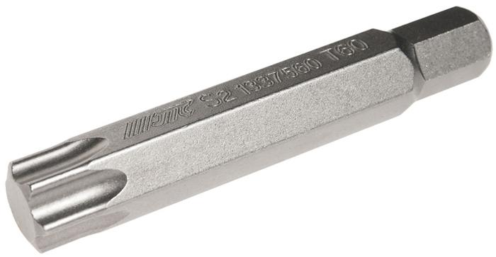 JTC Вставка 10 мм TORX удлиненная Т60х75 мм. JTC-13375602706 (ПО)Размер: Т60 х 75 мм., удлиненная TORX.Длина насадки: 10 мм.Материал: S2 сталь.