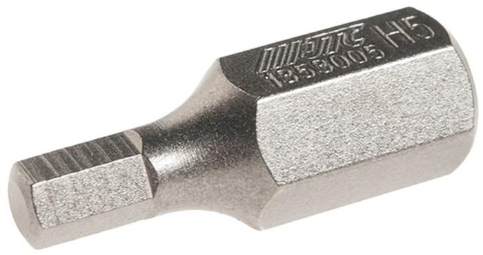 JTC Вставка 10 мм 6-гранная 5х30 мм. JTC-1353005RC-100BWCРазмер: 5 х 30 мм.Длина насадки: 10 мм 6-гранная.Материал: S2 сталь.