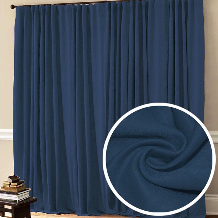 Портьера Amore Mio, 200 х 270 см, 1 шт., цвет: синий. 7750177501