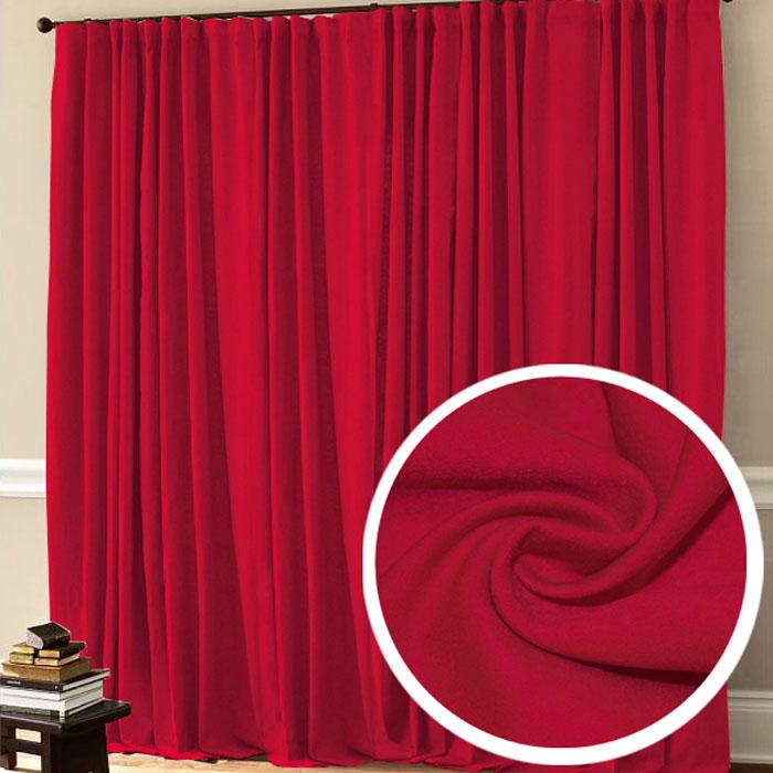 Портьера Amore Mio, 200 х 270 см, 1 шт., цвет: красный. 7750377503
