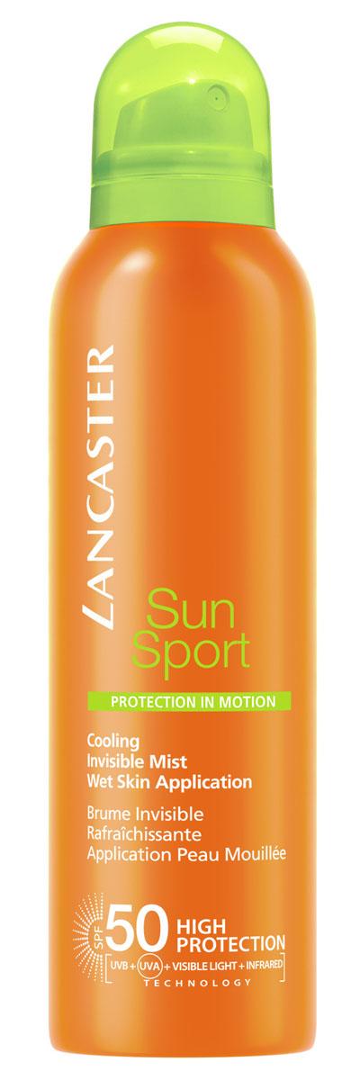 Lancaster Sun Sport Солнцезащитный спрей с возможным нанесением на влажную кожу, 200 мл40777303000Высокоэффективные формулы, специально разработанные для занятий спортом и активного отдыха. Быстро впитываются, незаметны и неощутимы на коже. Можно наносить на влажную кожу. Особенности: защита от UVA- и UVB- лучей с помощью фотостабильных высокоэффективных UVA- и UVB-фильтров Эксклюзивная ИНФРАКРАСНАЯ защита, благодаря уникальной системе двойного действия: отражает и нейтрализует IR-лучи благодаря 3 физическим фильтрам (рубиновой пудре, диоксиду титана, перламутровому пигменту) Нейтрализует свободные радикалы, образованные UV-лучами с помощью эксклюзивного антиоксидантного комплекса и IR-лучами с помощью мощных антиоксидантов (витамина Е и производного витамина С). NEW система нанесения на влажную кожу WET SKIN APLICATION. Комплекс Активации Загара: сочетание комплексов Гелиотан (богат аминокислотами, микроэлементами и минералами), Биотаннинг (экстракт сладкого апельсина) и масла бурити Масло бабассу Глицерин.