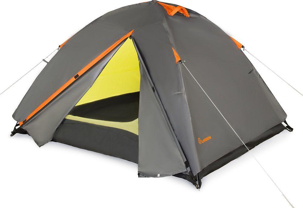Палатка Larsen A3 Quest, 3-х местная, цвет: серый, оранжевый286805Размеры внутренних палаток: 180 х 220 х 120 см Материал тента: полиэстер 75D/190T PU Материал внутренних палаток: дышащий полиэстер Материал пола: полиэстер 75D Дуги: фиберглас, 7,9 мм Водонепроницаемость пола: 5000 мм Водонепроницаемость тента: 4000 мм Размеры палатки: 230 х 290 х 130 см Вес: 3,80 кг Тамбур: 2 по 50 см Антимоскитная сетка : + Проклеенные швы: + Вентиляционные отверстия: 2
