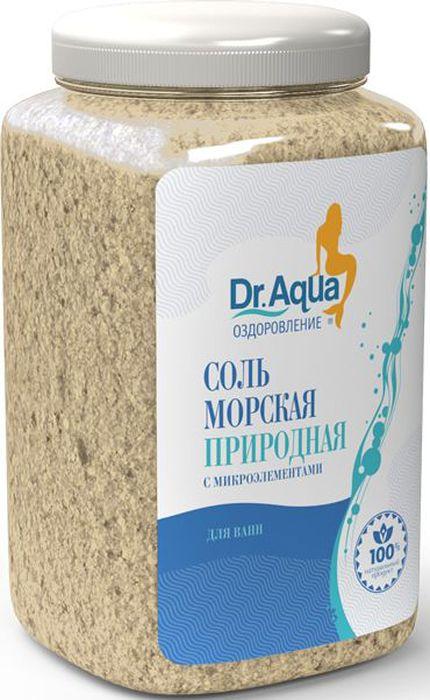 Dr. Aqua Соль морская природная, 750 г72523WDСоли для ванн серии Аква-Оздоровление эффективно восстановят организм после эмоциональных и физических нагрузок.Природная морская соль Верхнекамского месторождения является уникальным оздоравливающим средством: она идеально подходит для проведения SPA-процедур в домашних условиях. При растворении соли в воде образуются естественные взвесь и осадок — это целебная межкристаллическая глина, которая содержит в себе более 40 жизненно важных макро- и микроэлементов.Регулярный прием ванн с морской солью поддерживает процесс обновления клеток кожи, усиливает ее защитные функции, сохраняет молодость и здоровье.