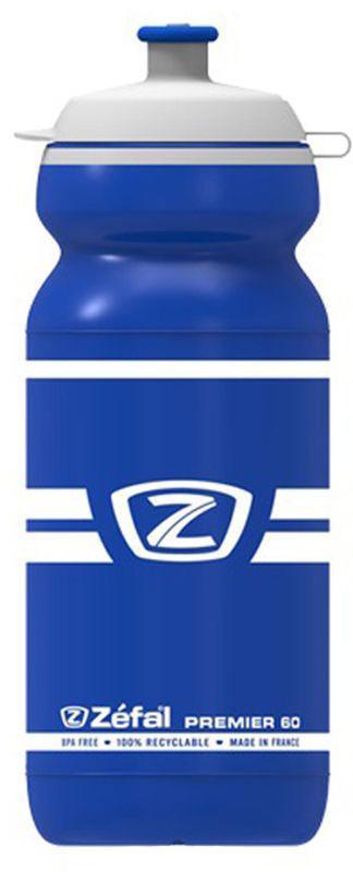 Фляга велосипедная Zefal Premier 60, цвет: синий, белый, 600 млCRL-3BLВелосипедная фляга Zefal Premier 60 изготовлена из пищевого пластика (без использования бисфенола и ПВХ). Вы можете без труда ее установить на велосипед (держатель для фляги приобретается отдельно). Делайте большие глотки благодаря клапану с сильной струей и наполняйте фляжку с помощью большой крышки.Можно мыть в посудомоечной машине.
