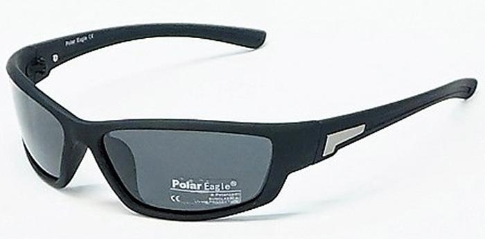 Очки солнцезащитные мужские Polar Eagle, цвет: черный. PH6303BM8434-58AEОчки солнцезащитные с поляризацией для активного образа жизни. Основные особенности: Не пропускают ультрафиолетовое излучениеПовышают контрастность цветовосприятияОтсекают бликиЛегкая и комфортная оправаМатериал: высококачественный пластик, металл