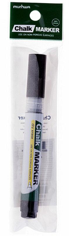 MunHwa Маркер меловой цвет черныйKCO-30-659315Меловой маркер на спиртовой основе. Можно использовать для письма на стекле, маркерных досках или любой гладкой поверхности.Маркер меловой MunHwa поможет организовать ваше рабочее пространство и время.