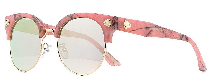 Очки солнцезащитные женские Vitta pelle, цвет: черный, розовый. 1301-2017-5617INT-06501Степень защиты от ультрафиолетовых лучей - 400UV.