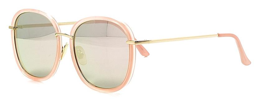 Очки солнцезащитные женские Vitta pelle, цвет: розовый. 2802-2017-8822-037-009Степень защиты от ультрафиолетовых лучей - 400UV.
