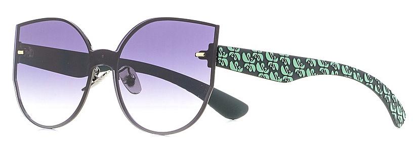 Очки солнцезащитные женские Vitta pelle, цвет: черный. 1301-2017-839BM8434-58AEСтепень защиты от ультрафиолетовых лучей - 400UV.