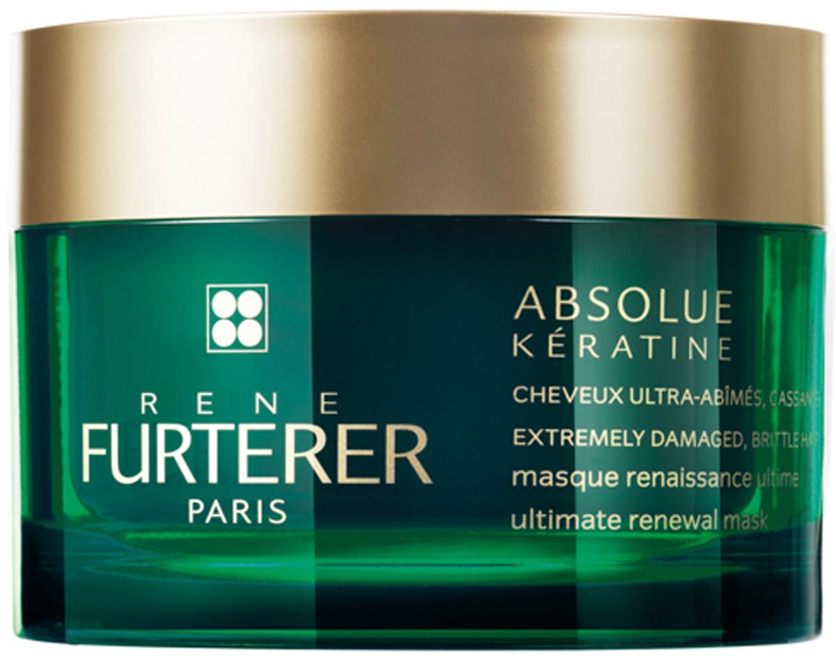 Rene Furterer Absolue Keratine Маска интенсивно-восстанавливающая для сильно поврежденных, ломких волос, 200 млFS-00897Скорая помощь для сильно поврежденных и ломких волос. Шоковая терапия! С помощью уникальных технологиях и концентрированных растительных компонентов маска восстанавливает не только кутикулу, но кортекс волоса. Восстанавливает и возвращает первоначальную красоту волос, облегчает их расчёсывание, не утяжеляя. Без силиконов. Насыщенная кремовая жемчужная текстура с чувственным, пленительным ароматом. Уникальный дизайн упаковки. Маска удостоена Международной премии ELLE International Beauty Awards 2016.