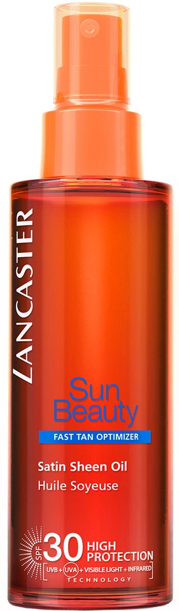 Lancaster Sun Beauty Care Шелковистое масло Быстрый загар spf 30, 150 млБ33041_шампунь-барбарис и липа, скраб -черная смородинаМоментальный интенсивный загар. Благодаря более совершенной защите кожа выглядит великолепно, она насыщается питательными веществами и становится более эластичной. Загар быстрый, интенсивный и безупречный