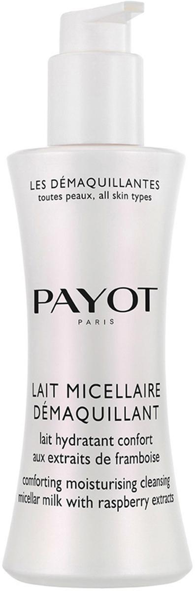 Payot Les Demaquillantes Молочко очищающее мицеллярное для всех типов кожи, 200 млБ33041_шампунь-барбарис и липа, скраб -черная смородинаОчищающее мицеллярное молочко, для всех типов кожи деликатно удаляет любые загрязнения и макияж. Увлажняет и смягчает кожу, восстанавливает биологический баланс кожи, сохраняя ее молодость.