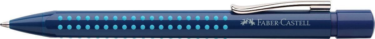 Faber-Castell Ручка шариковая Grip 2010 цвет корпуса синий72523WDШариковая ручка Faber-Castell Grip 2010 эргономичной трехгранной формы станет незаменимым атрибутом учебы или работы. Прозрачный корпус ручки выполнен из пластика и соответствует цвету чернил. Запатентованная антискользящая зона захвата дополнена малыми массажными шашечками.Высококачественные чернила позволяют добиться идеальной плавности письма. Ручка оснащена упругим клипом для удобной фиксации на бумаге или одежде.Особенности: наконечник и выдвижной колпачок наконечника из металла система, предотвращающая поломку грифеля оптимальная толщина грифеля 0,7 мм качественный, длинный, выдвижной ластик, защищенный колпачком система автоматической подачи грифеля