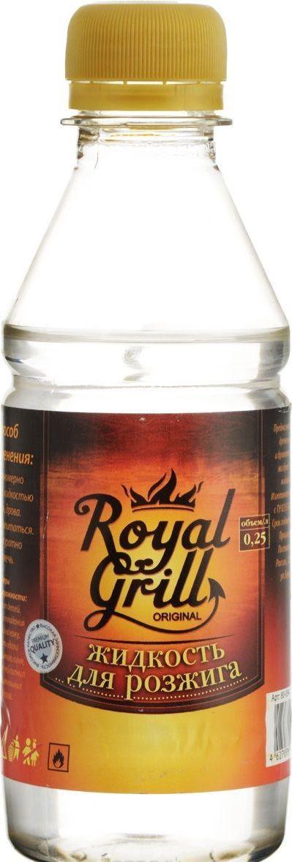 Жидкость для розжига RoyalGrill, углеводородная, 0,22 л. 80-291RUC-01Жидкость для розжига 0,22 л, углеводородная