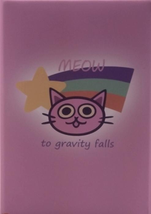 Обложка для паспорта женская Elisir Гравити Фолз кошечка, цвет: розовый. DE-GF003-OP0001-000A16-11154_711Обложка для паспорта Гравити Фолз кошечка, из жёсткого пластика с пластиковыми карманами. Размеры (XxYxZ): 92х131х5