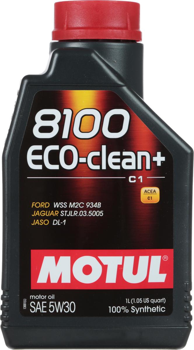 Масло моторное Motul 8100 Eco-Clean Plus, синтетическое, 5W-30, 1 лCA-3505Моторное масло для бензиновых и дизельных двигателей стандарта Евро IV и Евро V. 100% синтетическое. Энергосберегающее моторное масло.Специально разработано для автомобилей последнего поколения, оснащенных бензиновыми двигателями и дизельными двигателями с непосредственным впрыском, отвечающих требованиям стандартов Евро IV и Евро V и требующих использования в них масла стандарта ACEA C1: масла с низкой высокотемпературной вязкостью Low HTHS (Совместимо с каталитическими конверторами и сажевыми фильтрами.Некоторые двигатели не предназначены для использования в них данного типа масел, поэтому перед использованием этого продукта необходимо ознакомиться с руководством по эксплуатации автомобиля.ACEA Стандарты: ACEA C1JASO Стандарты: JASO DL-1Одобрения: FORD WSS M2C 934-B JAGUAR STJLR.03.5005
