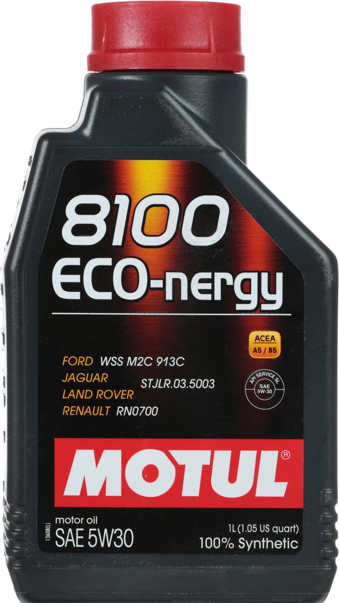 Масло моторное Motul 8100 Eco-nergy, синтетическое, 5W-30, 1 л2706 (ПО)100% синтетическое моторное масло для бензиновых и дизельных двигателей. Энергосберегающее. Энергосберегающее 100% синтетическое моторное масло. Специально разработано для мощных современных бензиновых и дизельных двигателей автомобилей, в том числе с непосредственным впрыском, для которых предусмотрено использование масел с низкой высокотемпературной вязкостью в условиях высоких скоростей сдвига (HTHS). Предназначено для бензиновых и дизельных двигателей, созданных по новым технологиям, для которых предписаны масла Fuel Economy (ACEA A1/B1 и А5/В5). Совместимо с системами нейтрализации отработавших газов. ACEA Стандарты: ACEA A5/B5API Стандарты: API SL/CFОдобрения: FORD WSS M2C 913D; Jaguar Land Rover STJLR.03.5003; Renault RN0700