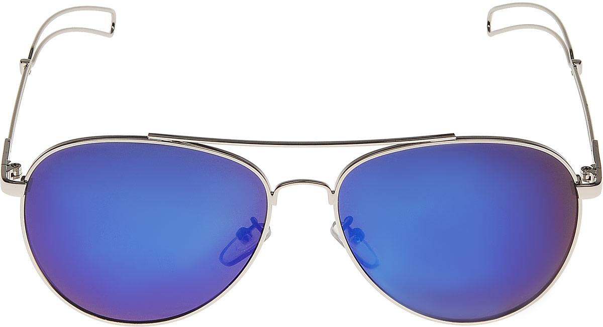 Очки солнцезащитные женские Vitta pelle, цвет: синий. 1301-2017-921BM8434-58AEСтепень защиты от ультрафиолетовых лучей - 400UV.