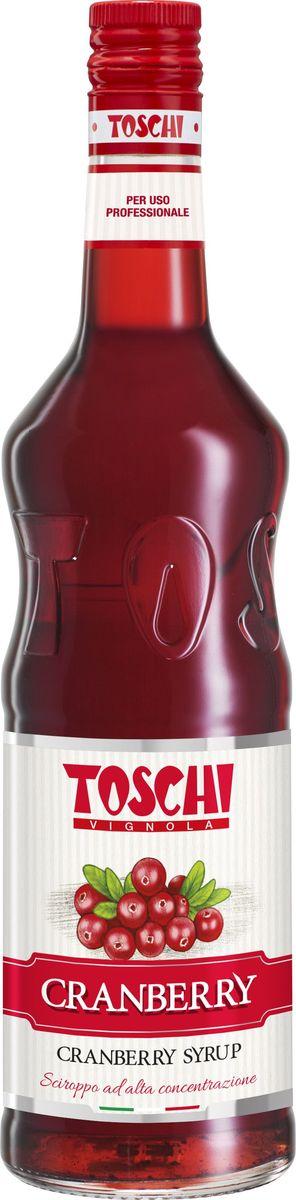 Toschi Клюква сироп, 1 л0120710Сироп Клюква Toschi отличается ярким цветом и терпким вкусом. Подходит для приготовления коктейлей, лимонадов, декорирования десертов и кондитерских изделий.О производителе: Компания Тоски Виньола основана в 1945 году как поставщик продуктов питания. Деятельность компании началась с производства фруктов в ликере, далее ассортимент начал включать сиропы, ликеры, вишни в сиропе Amarena, ингредиенты для мороженого и кондитерских изделий, бальзамический уксус и многое другое.За 70 лет развития компания Тоски Виньола значительно расширила ассортимент выпускаемых продуктов. Благодаря высочайшему качеству и использованию натуральных ингредиентов продукция компании Тоски Виньола известна во всем мире. В 2006 году вся продукция Тоски Виньола получила сертификат IFS (Международный пищевой стандарт). Сегодня Тоски Виньола является семейной компанией, ей управляют Джорджио Монторси и Массимо Тоски, которые бережно хранят секреты семейного производства.