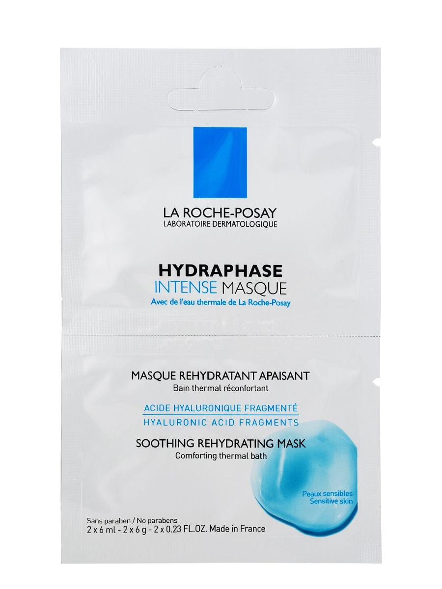 La Roche-Posay Hydraphase Intense Маска – 1 бидоза: 2х6млFS-00897Кожа становится прекрасно увлажненной и смягченной. Можно использовать Hydraphase Masque ежедневно в течение нескольких дней, а затем дважды в неделю для того, чтобы гарантировать длительное увлажнение кожи.