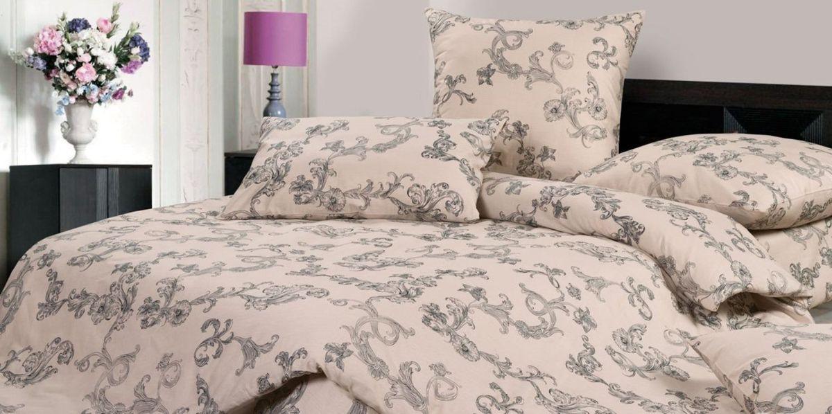 Комплект постельного белья Ecotex Гармоника Рошель, цвет: бежевый. 1,5 спальный10503Коллекция постельного бельяГармоника от Ecotex — это уникальное сочетание мягкости и нежности благородного сатина со свежестью дизайнерских решений.Коллекция представлена десятками вариантов расцветок, среди которых можно найти как нежные пастельные решения, так и яркие стильные оттенки, паттерны и их оригинальные сочетания. Сатиновая коллекция Гармоника рассчитана на взыскательных потребителей, ценящих стиль, оригинальный дизайн, а также собственный комфорт и нежное прикосновение ткани.