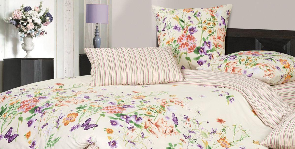Комплект постельного белья Ecotex Гармоника Цветана, цвет: бежевый. Семейный10503Коллекция постельного бельяГармоника от Ecotex — это уникальное сочетание мягкости и нежности благородного сатина со свежестью дизайнерских решений.Коллекция представлена десятками вариантов расцветок, среди которых можно найти как нежные пастельные решения, так и яркие стильные оттенки, паттерны и их оригинальные сочетания. Сатиновая коллекция Гармоника рассчитана на взыскательных потребителей, ценящих стиль, оригинальный дизайн, а также собственный комфорт и нежное прикосновение ткани.