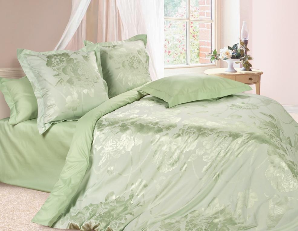 Комплект постельного белья Ecotex Эстетика Оливия, цвет: оливковый. 2-х спальныйS03301004Изысканная коллекция Estetica из жаккардового сатина — это утонченное удовольствие, рожденное неповторимым сочетанием перламутрового блеска и матовой сдержанности.