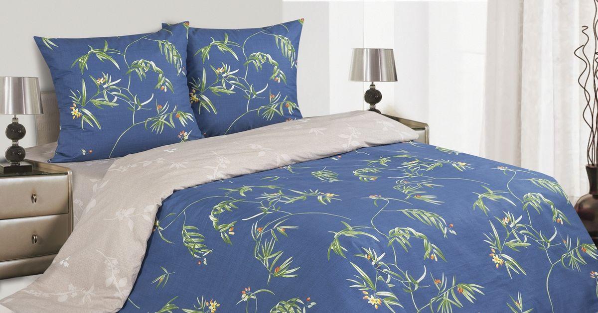 Комплект постельного белья Ecotex Поэтика Филомена, цвет: синий. СемейныйS03301004Высококачественный поплин позволяет коже дышать в течение всей ночи, обладает расслабляющим эффектом. Насладившись полноценным сном, Вы проснетесь наутро с новым зарядом энергии и хорошего настроения.