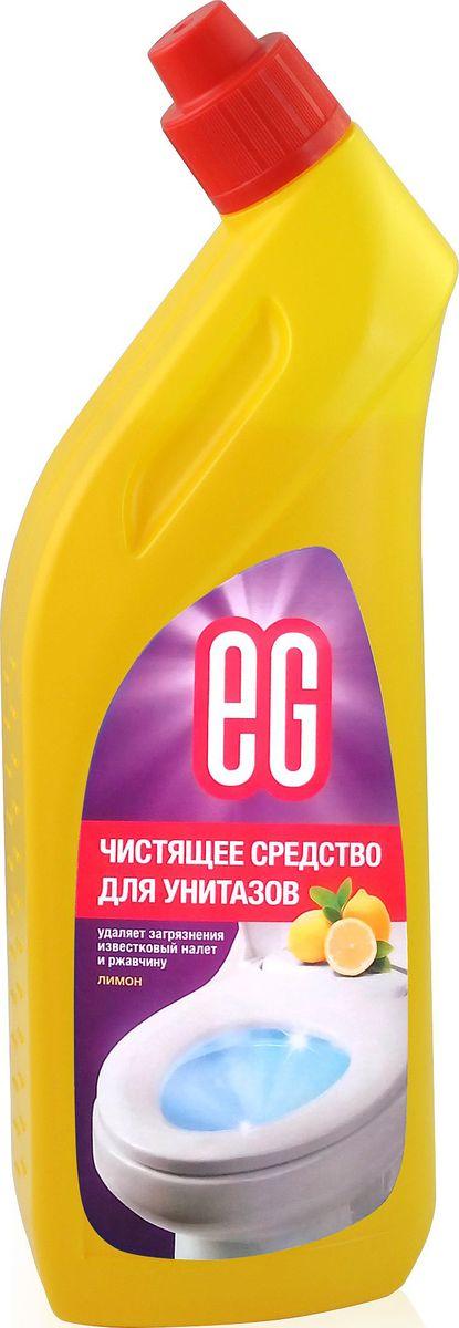 Средство для чистки унитаза EG Еврогарант Лимон, 750 млSS 4041Лимон. Чистящее средство для унитазов - гель. Удаляет загрязнения, известковый налет и ржавчину, придает блеск. 750 мл