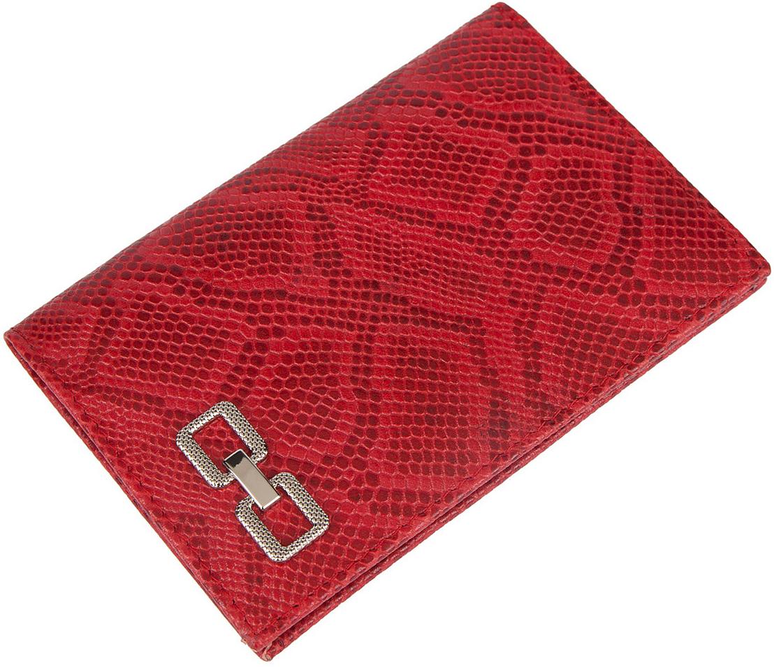Обложка для паспорта женская Labbra, цвет: красный. L051-1613BnY100144Обложка для водительских документов торговой марки LABBRA. Внутри есть множество файлов для документов. Модель не закрывается.