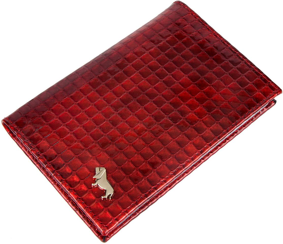 Обложка для паспорта женская Labbra, цвет: красный. L053-1613021201_01Обложка для водительских документов торговой марки LABBRA. Внутри есть множество файлов для документов. Модель не закрывается.