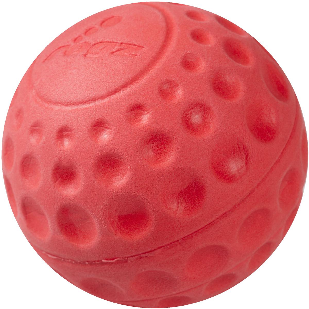 Игрушка для собак Rogz Asteroidz, цвет: красный, диаметр 6,4 см0120710Мяч предназначен для игры с хозяином Принеси.Небольшой вес, не травмирует десна, не повреждает зубы, удобно носить в пасти.Отличная упругость для подпрыгивания.Изготовлено из особого термоэла-стопласта SEBS, обеспечивающего великолепную плавучесть в воде, поэтому игрушка отлично подходит для игры в водоеме.Материал изделия: EVA (этиленвинилацетат) - легкий мелкопористый материал, похожий на застывшую пену.Не токсичен. 100% EVA (Этиленвинилацетат)