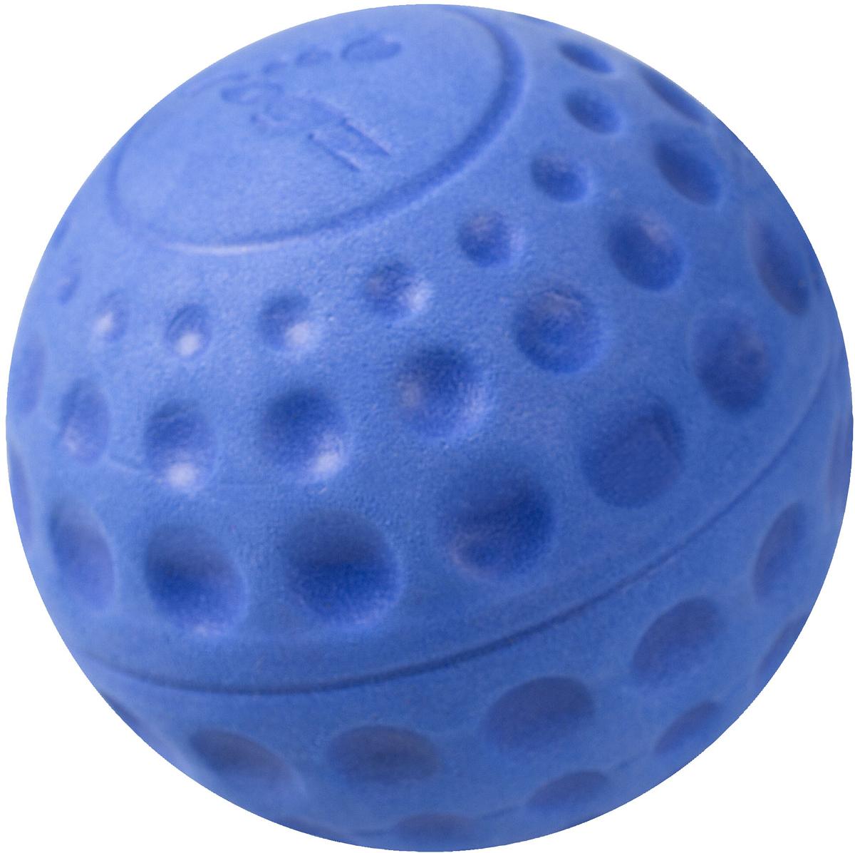 Игрушка для собак Rogz Asteroidz, цвет: синий, диаметр 4,9 см0120710Мяч предназначен для игры с хозяином Принеси.Небольшой вес, не травмирует десна, не повреждает зубы, удобно носить в пасти.Отличная упругость для подпрыгивания.Изготовлено из особого термоэла-стопласта SEBS, обеспечивающего великолепную плавучесть в воде, поэтому игрушка отлично подходит для игры в водоеме.Материал изделия: EVA (этиленвинилацетат) - легкий мелкопористый материал, похожий на застывшую пену.Не токсичен. 100% EVA (Этиленвинилацетат)