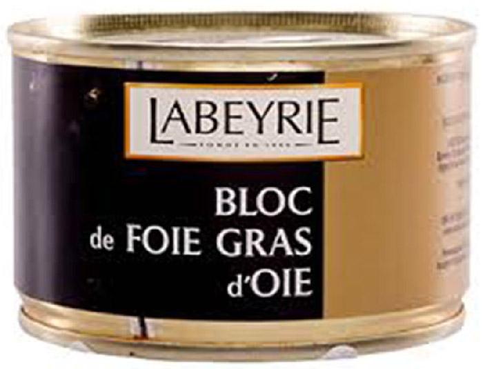 LaBeyrie Фуа-гра гусиная, 155 г0120710Продукт, который состоит из перемолотой печени, но с добавлением кусочков цельной фуа-гра. Содержание цельной фуа-гра не менее 30%.