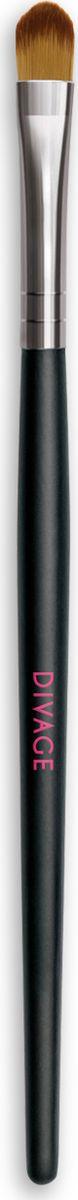 Divage Accessories - Кисть для теней с нейлоновым ворсом1301210Кисть для нанесения теней из нейлоновых волокон идеально подходит для создания профессионального макияжа. Сверхмягкие нейлоновые волокна кисти легко и равномерно распределят тени по поверхности века и растушуют карандашную линию. Кисть из нейлонового микроволокна подходит для нанесения кремовых теней. Сохраняет форму в течение долгого времени.