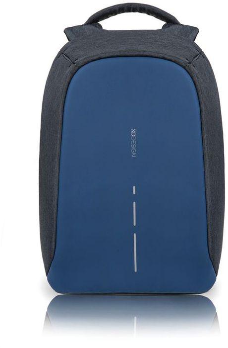 Рюкзак для ноутбука XD design Bobby Compact, до 14, цвет: темно-серый, темно-синий, 11 лBP-001 BKРюкзак для ноутбука до 14 XD design Bobby Compact - это второе поколение противоугонного рюкзака меньшего размера. Несмотря на то, что габариты изделия стали меньше, благодаря продуманному расположению и устройству отделений влезет все, что может пригодиться в течение дня.Преимущества: • Полная защита от карманников: не открыть, не порезать.• Вшитый USB-порт для зарядки гаджетов.• Светоотражающие полосы.• Супер-легкий: на 25% легче аналогов.• Отделение для ноутбука до 14.• Отделение для планшета.• Чехол-кошелек для мелких аксессуаров.• Крепления для бутылки воды и камеры.