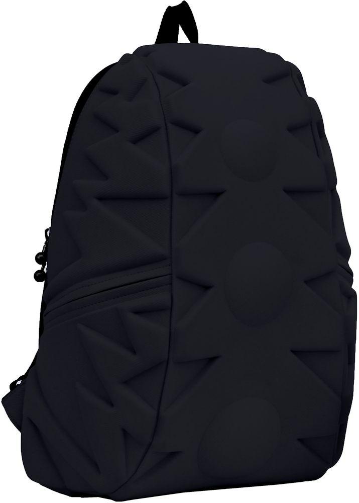 Рюкзак городской MadPax Exo Full, цвет: черный, 32 л262/1_FСтильный и практичный рюкзак, уместный в ритме большого города. Основное отделение закрывается на молнию. Внутри изделия есть отделение для ноутбука с максимальным размером диагонали 17 дюймов. По бокам - два дополнительных кармана на молнии. Модель помимо лямки для переноски в руке, мягких и широких регулируемых бретелей снабжена фиксацией на груди. Полностью вентилируемая и ортопедическая спинка создаёт дополнительный комфорт вашей спине.