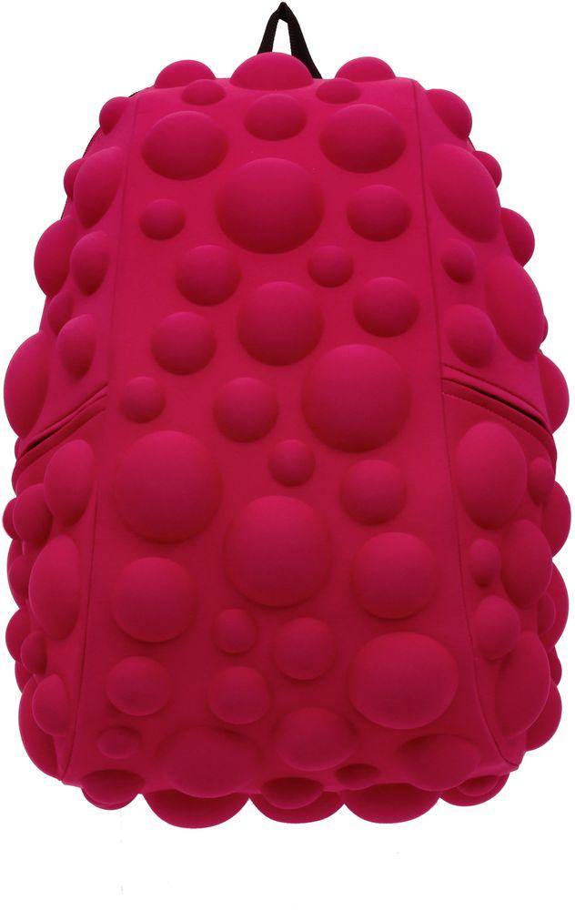 Рюкзак городской MadPax Bubble Full, цвет: розовый, 32 лJSO-10304Рюкзаки серии Full отлично подойдут для старшеклассников и взрослых. Яркий, с оригинальным 3D дизайном, ортопедической спинкой он станет незаменимым спутником любого школьника и взрослого.Рюкзак удобен не только для использования в школе, но и отлично подойдет для катания на роликах, скейтах, велосипедах. Он идеален для всех кто любит активный образ жизни.Все 3D элементы мягкие и вы можете не беспокоится о своей безопасности и безопасности окружающих.Ортопедическая спинка поможет избежать искривления позвоночника. Мягкие воздухопроницаемые широкие лямки (6 см) с нагрудным ремнем правильно распределят вес.Особенности:одно основное отделение на молнииотделение для ноутбука до 17мягкие воздухопроницаемые широкие лямки (6 см)нагрудный ременьортопедическая спинка с мягкой обивкойдва боковых кармана на молнии