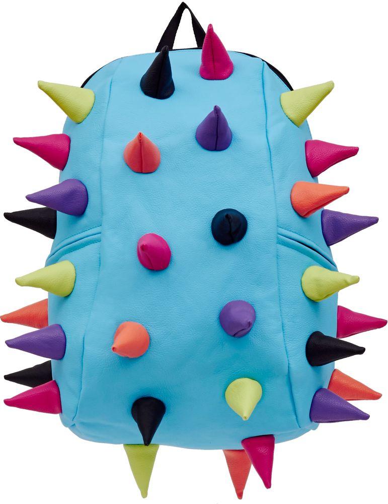 Рюкзак городской MadPax Rex 2 Full Whirpool, цвет: голубой, 32 лH009Рюкзаки серии Full отлично подойдут для старшеклассников и взрослых. Яркий, с оригинальным 3D дизайном, ортопедической спинкой он станет незаменимым спутником любого школьника и взрослого.Рюкзак удобен не только для использования в школе, но и отлично подойдет для катания на роликах, скейтах, велосипедах. Он идеален для всех кто любит активный образ жизни.Все 3D элементы мягкие и вы можете не беспокоится о своей безопасности и безопасности окружающих.Ортопедическая спинка поможет избежать искривления позвоночника. Мягкие воздухопроницаемые широкие лямки (6 см) с нагрудным ремнем правильно распределят вес.Особенности:одно основное отделение на молнииотделение для ноутбука до 17мягкие воздухопроницаемые широкие лямки (6 см)нагрудный ременьортопедическая спинка с мягкой обивкойдва боковых кармана на молнии